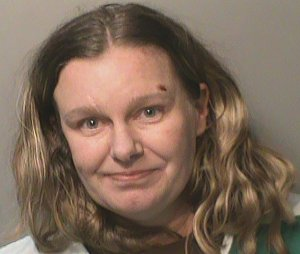 Nicole Poole Franklin is seen in mug shot released by the Clive Police Department.
