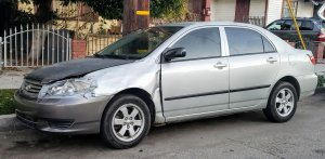 The silver vehicle Martinez-Paredez is believed to have been driving in has California license plate #5MHS956. (Credit: Long Beach Police Department)
