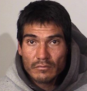 Octavio Delgadillo, 36, of Oxnard, pictured in a photo released by the Oxnard Police Department following his arrest on Feb. 15, 2020.