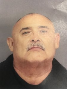 Patrick Ceniceros is seen in a booking photo released Feb. 12, 2020, by the Tustin Police Department.