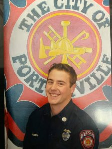 Porterville Fire Department Capt. Patrick Jones appears in a photo released by the agency on Feb. 19 2020.