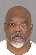 Alonzo Ivory is seen in an undated booking photo released Feb. 14, 2020, by the Riverside County Sheriff's Department.