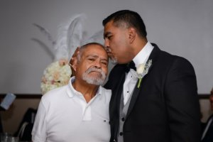 Francisco Sanchez-Reyes and his son, Ramon Sanchez (right) are shown in a shown in a photo released on a GoFundMe page on Feb. 10, 2020.