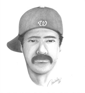 This sketch of a car-to-car shooting suspect was released Feb. 18, 2020, by the Simi Valley Police Department.